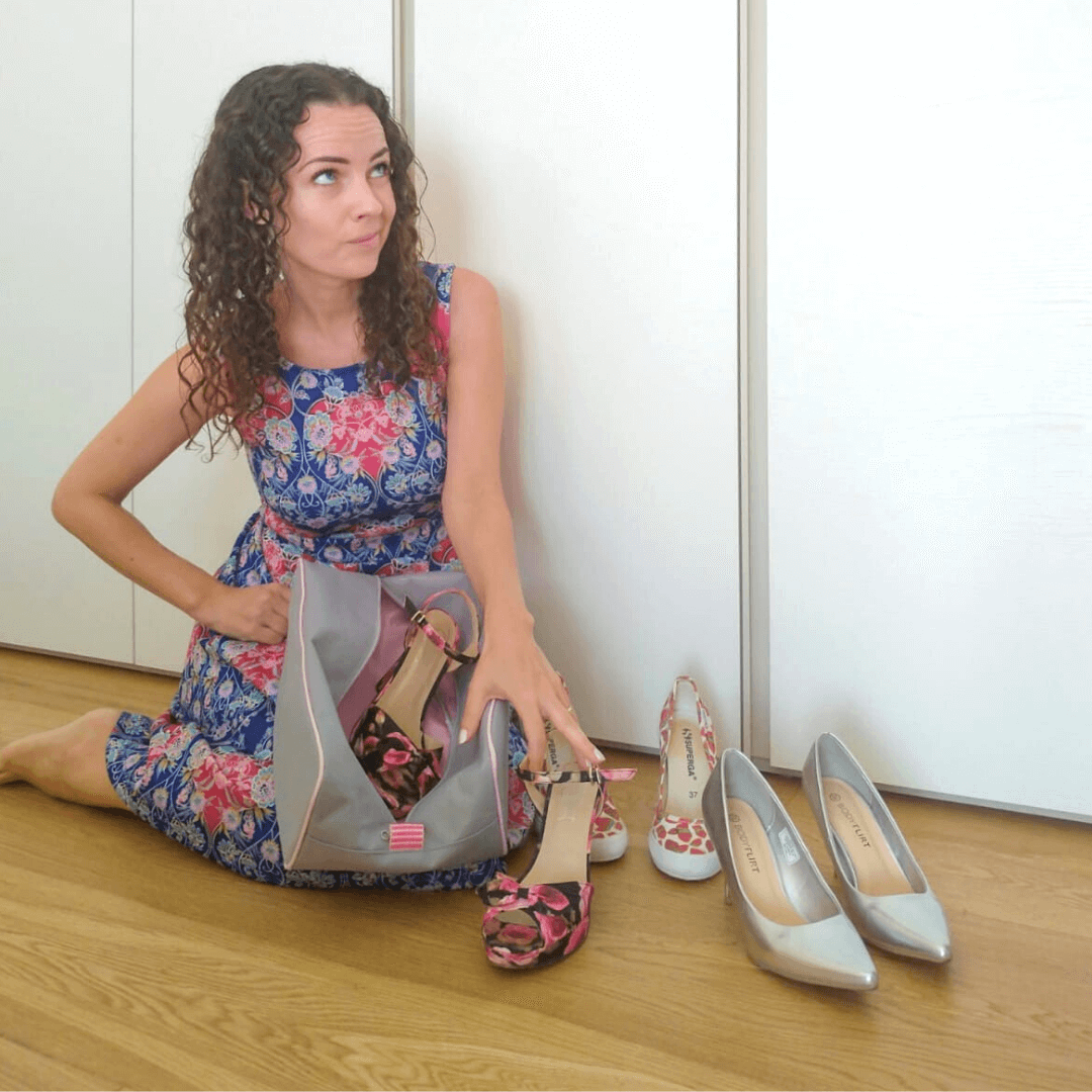 BrightMe cipőtartó táska