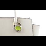 BrightMe Purse Sparkle - Zöld táskatartó ékszer