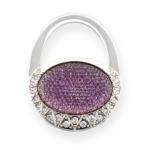 BrightMe purse lila táskatartó ékszer
