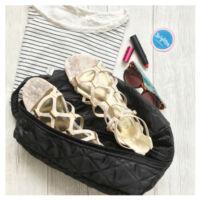 BrightMe női cipőtartó táska - fekete