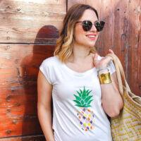 BrightMe ananászos póló