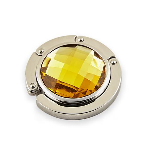 BrightMe Classic - Napsárga táskatartó ékszer