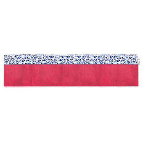 BrightMe egyedi táskarendező pink-kék és arany háromszögek