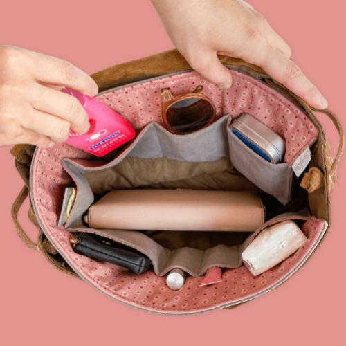 BrightMe textil táskarendező - RAINDROPS