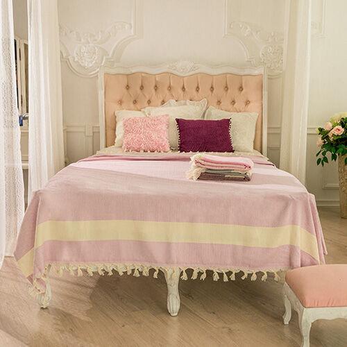 BrightMe Hamptons takaró - világos lila