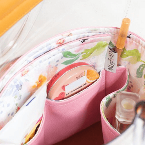 Pink floral táskarendező