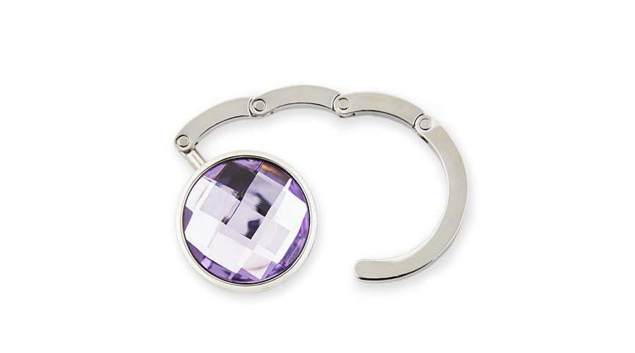 BrightMe Classic táskatartó ékszer - Világos lila 7d162d7f2a
