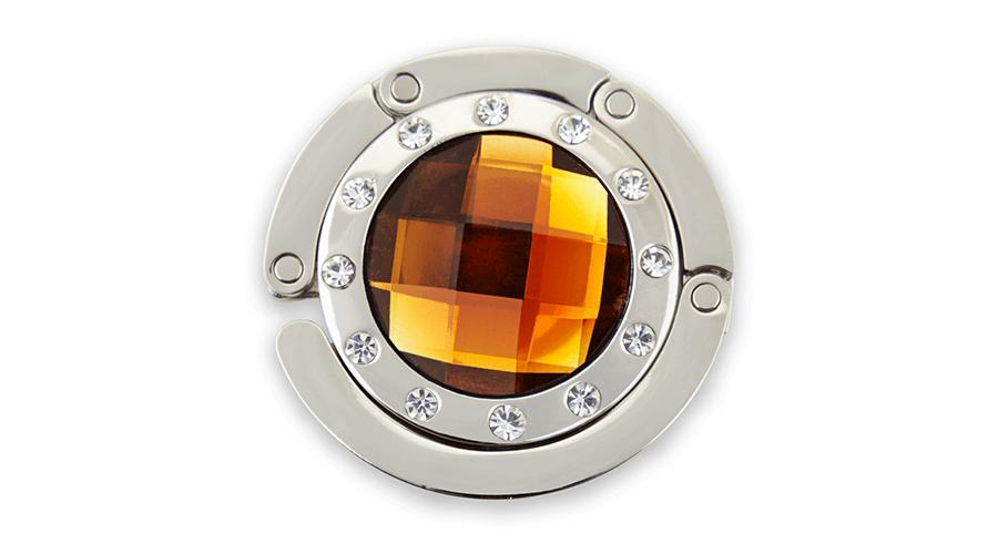 BrightMe Classic táskatartó ékszer - Borostyán 32f5dcf3b6