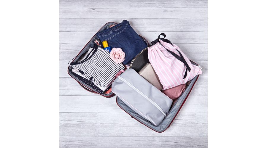 brightme rózsaszín-fehér csíkos fehérnemű zsák utazáshozport.hu 58e079e040